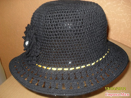 Моя первая шляпка.