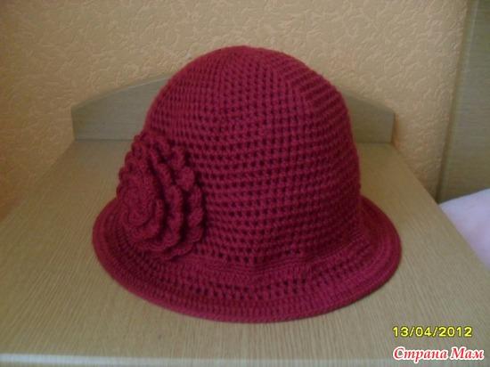 Вот и вторая шляпка для себя.