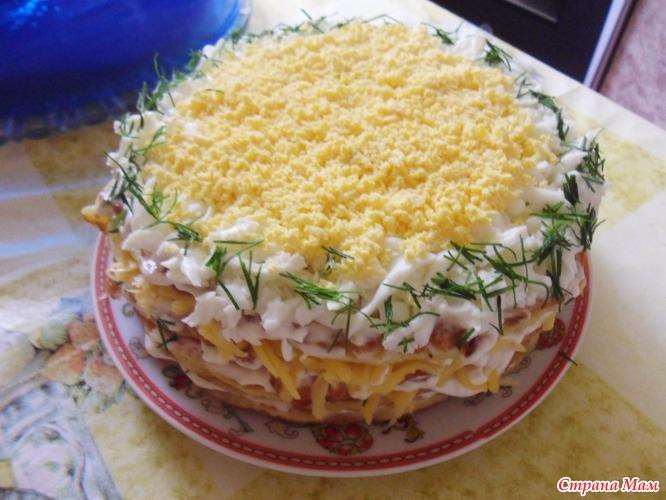 кабачковый торт рецепт журнал люблю готовить