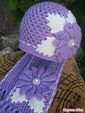 Страна мам вязание крючком детям шапочки 201