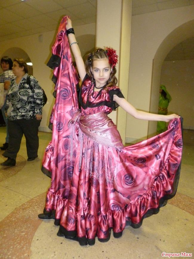 0e84a3019 Цыганский костюм для танцев (мастер-класс) - Страна Мам