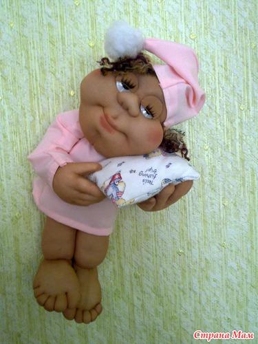 Кукла из капрона своими руками 10