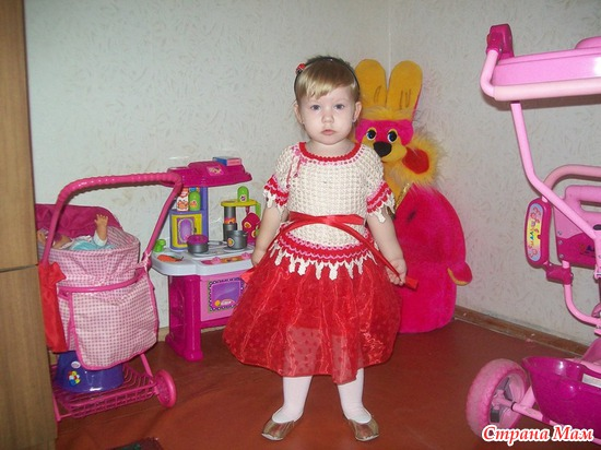 Нарядное платьице