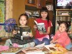 Очень мечтаем получить PocketBook, она поможет нам экономить.У нас большая семья, и читать любят все, и мы сможем читать книги, каждый по своим интересам. Эх, скажу как мама, три девочки, это столько расстрат,))))) а тут в одной книге столько возможностей