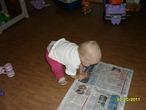 Интересная газета, но лучше бы выиграть PocketBook - его читать удобнее.