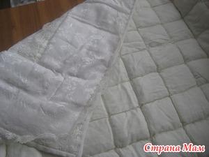 Детское стеганое одеяло МК