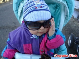Зимние прогулки с детьми.