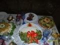 """Новогодний салат """"Рождественская свеча"""""""
