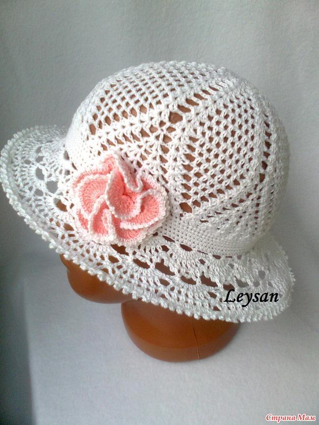 Вязаные летние шляпки со схемами женщин фото 828