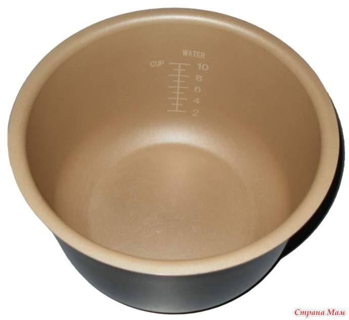 Мультиварки чаша с керамическим покрытием