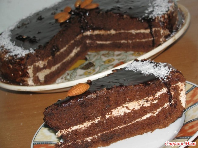 также торт шифоновая прага рецепт с фото она хранится