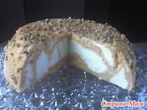 Сливочно-манговый десерт