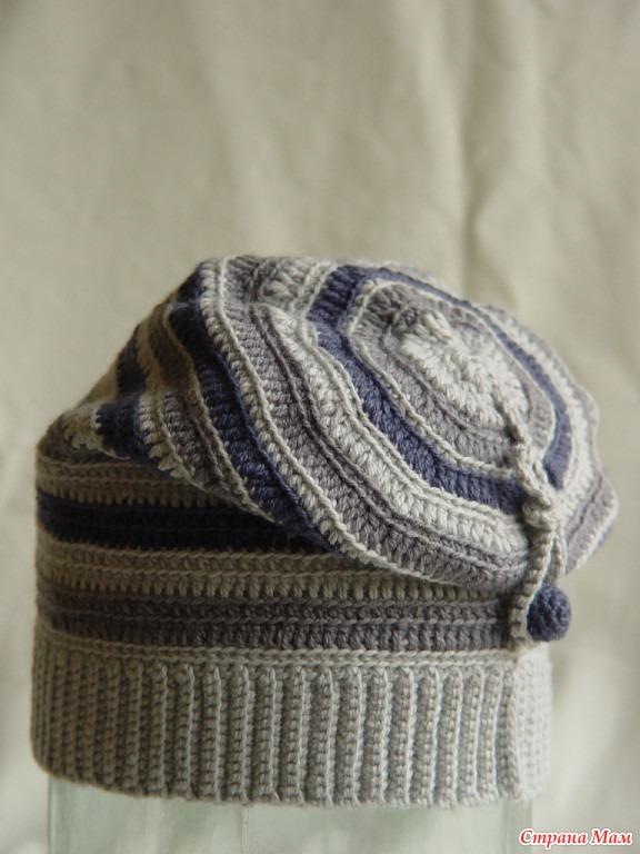 шапка чулок крючком вязание страна мам