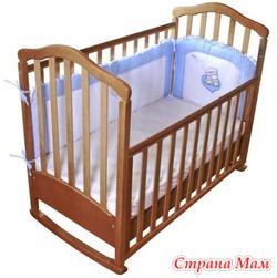 Детская кроватка Верес  Соня ЛД 7 + матрас