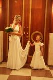 Я-невеста. (с племяшкой) 25 сентября 2009г.