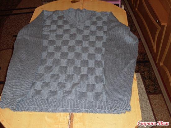 свитер сыну