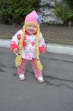 Моя Рапунцель на прогулке