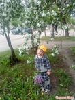 мальчик в цветочках)