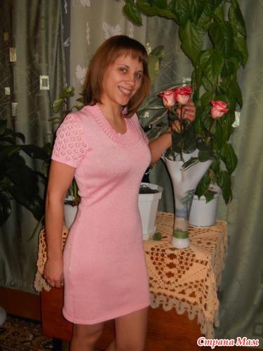 Розовое счастье для Оленьки
