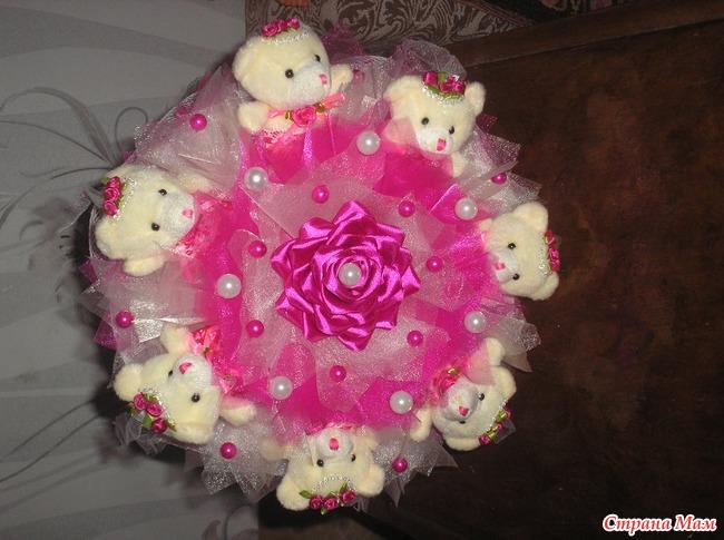 Как сделать букет из игрушек пошагово, цветов баку