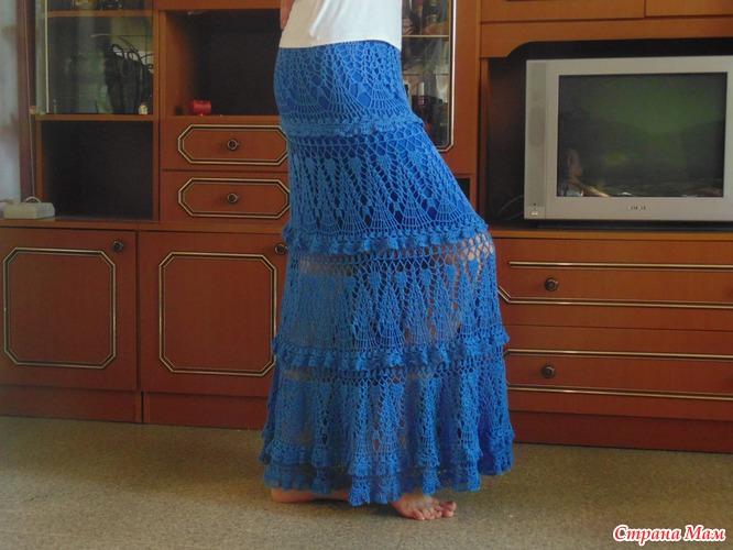 Схемы вязаных юбок, шорт, брюк крючком и спицами » страница 2.