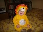 Новогодний лев:)