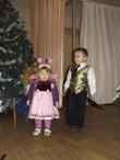 мои крошки на елке))