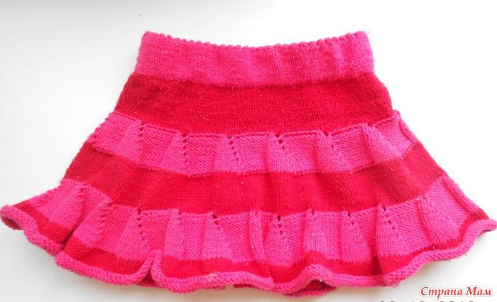 283f98d1141 Юбочка для красотки - Вязание для детей - Страна Мам