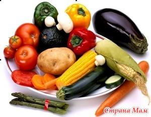 Нужны ли овощи кормящим?
