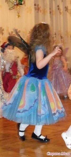 Платье Феи-бабочки. Мисин вариант