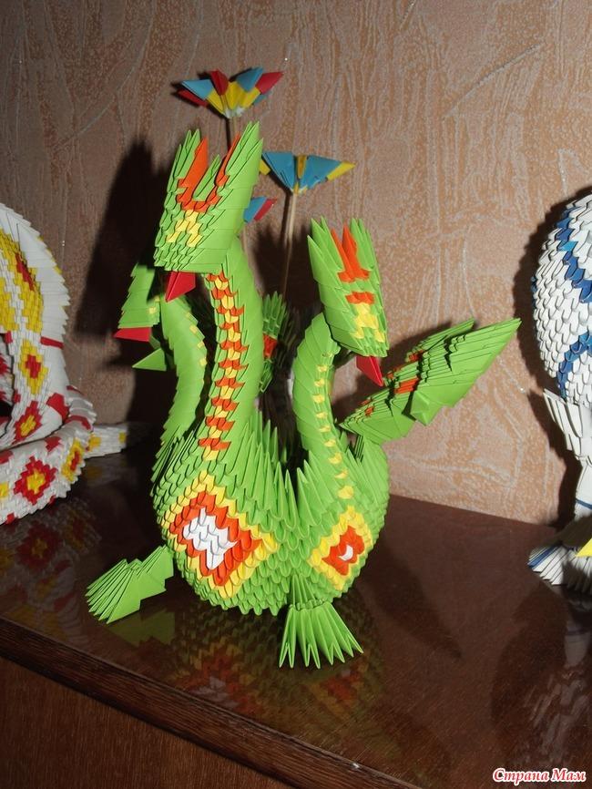 модульное оригами змей горыныч фото мастер класс происходило середине