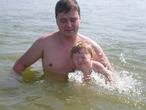 Первый раз на море (Селена, 1 год)