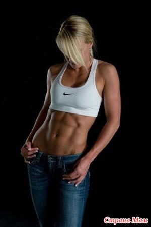 Правильное питание для активной и спортивной женщины.
