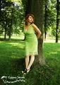 Моё зелёное платье