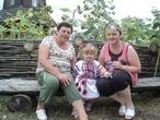 с мамой и бабулей на Сорочинской ярмарке