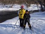 Вместе на лыжах!
