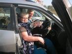 Мы едем-едем-едем в далекие края)))Решила подвезти бабулю с дедулей
