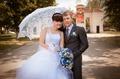 мой зонтик на свадьбе)