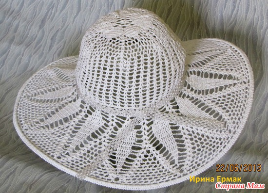 Летняя шляпка для дочери
