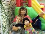 мы с сыном в детском развлекательном центре пчелка