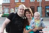 Наша маленькая семья!!! Выбрались подышать морским воздухом!!!