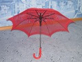 зонт красный