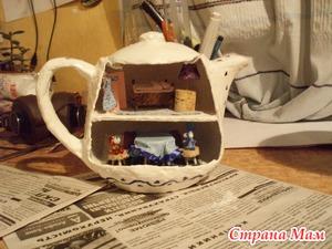 Фарфоровый домик