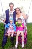 Наша маленькая семья))))