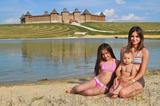 Летние походы с дочурками :)