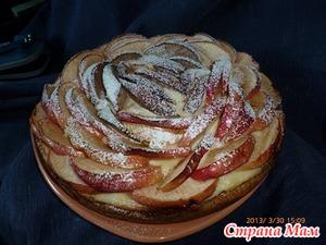 """Творожный пирог """"сладкая жизнь"""""""