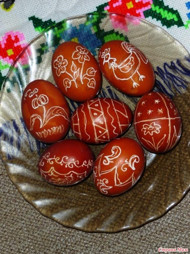 Чем красить яйца картинки