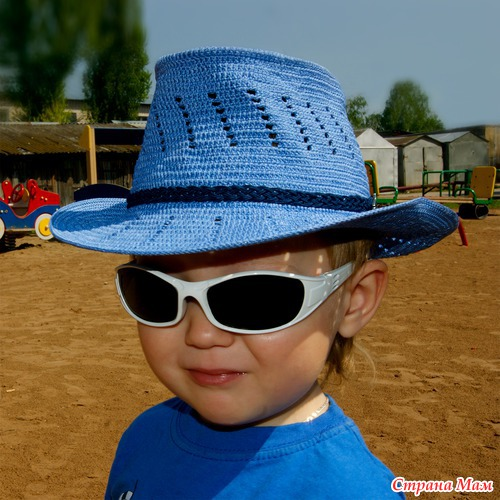 """Авторская шляпа """"Маленький Джастин"""""""