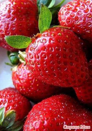 Ранние ягоды и фрукты в питании детей.