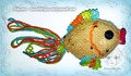 """Сувенирная игрушка """"Золотая рыбка"""""""